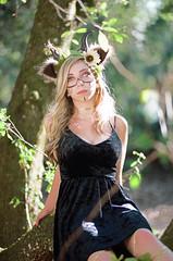 Elizabeth Robertson (riick370) Tags: portra portra160 film analog analogphotography analogfilm 35mm 35mmfilm filmisnotdead istillshootfilm orlando florida portrait beauty halloween halloween2017 woman costume canon eos3 85mm