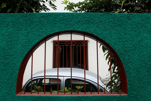Streets of Miraflores, Lima, Peru