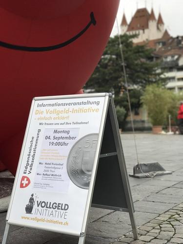 Vollgeld-Tour Thun