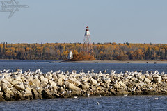 Gull Harbour Lighthouses (Winglet Photography) Tags: wingletphotography georgewidener stockphoto earth canon 7d georgerwidener inspiration sky lighthouse hecla manitoba island gullharbour old canada heclaisland 1898 historic lakewinnipeg newiceland nordic icelandic historical heritage canadian