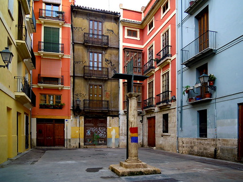 Valencia, Plaza Santa Cruz