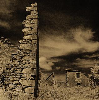 Abandoned Village (Hoces del Ebro)