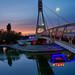Bridge of Kisses in Krasnodar