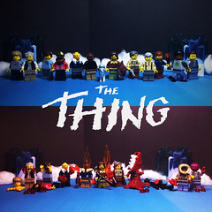 Man is The Warmest Place to Hide (Lord Allo) Tags: lego john carpenters the thing carpenter kurt russell norris copper windows clark bennings childs macready r j garry blair fuchs nauls palmer dog who goes there from another world w campbell