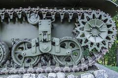 Lil' tank in Ilirska Bistrica (rlubej) Tags: notranjska vehicles war memorial