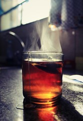 My cup of tea (GabyF88) Tags: tea te cup morning object light steam
