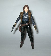 sergeant jyn erso star wars the black series red packaging rogue one walmart exclusive 3.75 inch basic action figures 2016 hasbro d (tjparkside) Tags: sergeant jyn erso rebel rebels blaster pistol rifle weapon weapons belt holster jacket vest alliance star wars black series basic action figure figures misb rogue one 1 2016 2017 hasbro tbs 375 inch 3 34 disney warrior red packaging part stock scope walmart exclusive jedha