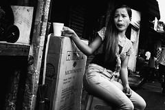 Hot Coffee (Meljoe San Diego) Tags: meljoesandiego fuji fujifilm x100f streetphotography street streetlife candid monochrome philippines