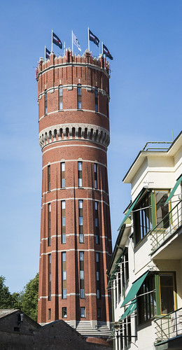The old Kalmar water tower
