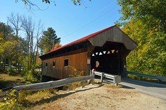 Waterloo Covered Bridge, NH (hatchski) Tags: warner new market road waterloo town truss river nh covered bridges newhampshire hampshire newengland england wood architecure wooden lattice design national register historic places arsonist arsonists nationalregisterofhistoricplaces nikon d7100