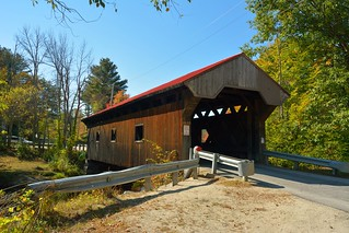 Waterloo Covered Bridge, NH