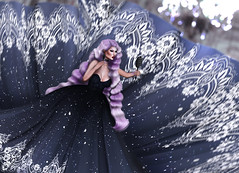 Vanity . (Venus Germanotta) Tags: secondlife fashion fierce sickening pixicat theepiphany event queen majesty royalty fabulous aesthetic longhair weave wave purple lavenderblonde gown fantasy fantasea vain vanity gaga ballroom lights glitz glam beautiful gorgeous sparkle shine blog blogger blogging blogpost photoshop design graphicdesign edit lighting perspective blur gaze muse chandelier reflection shallow stunning fabric hautecouture couture highfashion hair littlebones model pose style slay pattern twirl length empire halloween ballgown fashionista digitalart look mug makeup snatched glamorous