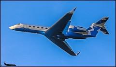 N312P Gulfstream G550 c/n 5366 Pritzker Organization LLC (EGLF) 30/10/2017 (Ken Lipscombe <> Photography) Tags: n312p gulfstream g550 cn 5366 pritzker organization llc eglf 30102017 farnboroughairporticaoeglfbizjetsaviationflyingtag