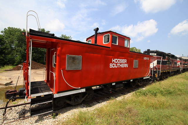 Hoosier Southern Railroad Caboose