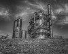 Gasification (writing with light 2422 (Not Pro)) Tags: gasworkspark blackandwhite monochrome bw richborder sonya77 gasification coal washingtonstate usa