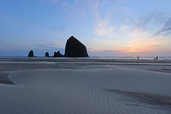 Haystack Rock - Cannon Beach (russ david) Tags: haystack rock cannon beach or oregon april 2017 pacific ocean landscape sea stack coast shore sand
