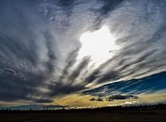 Sky Drama (Jane Olsen ( Chardonnay)) Tags: sky dramatic mood clouds sunset ground alberta outdoor landscape