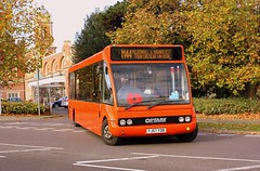Lest we Forget (Chris Baines) Tags: mulleys optare solo yj57 ydb bury st edmunds town service