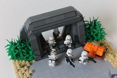 LEGO Star Wars | Scarif Bunker MOC (Izavagooba) Tags: lego star wars scarif bunker moc storm trooper stormtrooper rebel rogue one rogueone sand tan design izavagooba battle custom