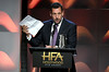Honoree Adam Sandler accepts the Hollywood Comedy Award for 'The Meyerowitz Stories' onstage during the 21st Annual Hollywood Film Awards at The Beverly Hilton Hotel on November 5, 2017 in Beverly Hills, California. (Photo by Kevin Winter/Getty Images)