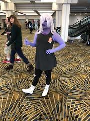 Amethyst! (blueZhift) Tags: youmacon 2017 cosplay anime manga comics videogames costume detroit amethyst stevenuniverse