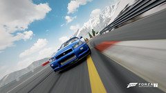 Pace (Mr. Pebb) Tags: bluesky clouds cloud bluecar car low front nissan skyline skylinegtrvspec r34 stockshot asian japanese fourseater twodoor awd allwheeldrive 4wd frontengined turbocharged videogame racinggame racegame xbox xboxone ms microsoft turn10 t10 forza forzaseries forzamotorsport7 fm7 forza7 photomode screenshot screencapture