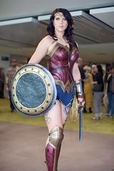 Film Grossed $821+ Million Worldwide (l plater) Tags: wonderwoman dccomics princessdiana 2017ozcomiccon darlingharbour sydney cosplay