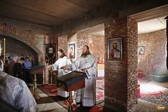 11. Первая литургия в с. Адамовка