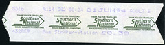 ticket - snoc 01-6-94 (johnmightycat1) Tags: bus ticket