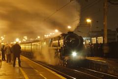 20110305 009 Watford Junction. BR Standard Class 8 4-6-2, 71000 'DUKE OF GLOUCESTER' With UK Railtours 'The Salopian' 1Z72, 15.10 Shrewsbury - Euston (15038) Tags: railways trains br britishrail steam locomotive watfordjunction 71000 dukeofgloucester class8 462
