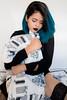 Elis Santos - @lissantos (Se7e Clicks) Tags: bluehairedgirl bluehairdontcare browneyes piercing girl bed boudoir fineartboudoir boudoirphotography femaleform photoshoot beauty