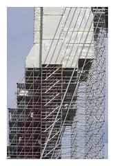 Veiled Willemsbrug (AurelioZen) Tags: europe netherlands zuidholland rotterdam willemsbrug scaffolding containmentcovering asbestos