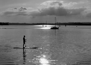 Calm over the lake