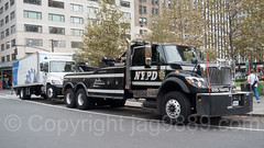 NYPD Tow Truck, Midtown Manhattan, New York City (jag9889) Tags: 2017 20171023 black car finest firstresponder international lawenforcement manhattan midtown ny nyc nypd newyork newyorkcity newyorkcitypolicedepartment outdoor policedepartment towtruck trafficenforcement truck usa unitedstates unitedstatesofamerica vehicle jag9889 us