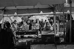dod 09771 (m.r. nelson) Tags: dayofthedead diadelosmuertosmesa az arizona southwest usa mrnelson marknelson markinaz blackwhite bw monochrome blackandwhite bwartphotography portraits peopledíadelosmuertosfestivalmesa2017