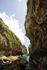 I am the stream that halts the sand (Magryciak) Tags: 2017 niue travel trip holiday tropic island islandlife pacific ocean water swim snorkel hot blue rock adventure outdoors outside cliff steep sky