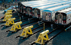 Seven 7 Trains (androosh) Tags: nyc queens flushingmeadowscoronapark mta subway 7train