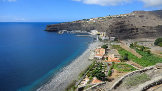 La Gomera (Spain's Canary Islands) - Playa de Santiago, a small village in the south