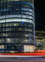 salesforce ground floor (pbo31) Tags: sanfrancisco california nikon d810 color black dark night october 2017 fall boury pbo31 city salesforce building missionstreet financialdistrictsouth panoramic large stitched panorama construction lightstream motion