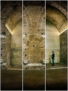 Roman Bricks Triptych