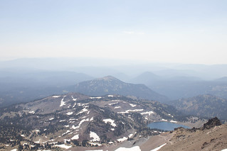 View South, Lassen Peak