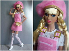Glad All Over Poppy in 1996 Fashion Avenue Barbie fashion (kingkevin) Tags: gladallover 2017 barbie poppy poppyparker 1996 fashionavenue pink whitelace nintiesfashion 90s