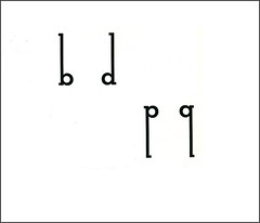 bd pq (Bob R.L. Evans) Tags: elongatedtype letters whitespace negativespace typography design stymietypeface
