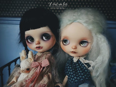 My last and first girl from Katinka doll, a vampire and a ghost.