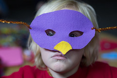Hawk mask (K.Logan.Sullivan) Tags: coop homeschool