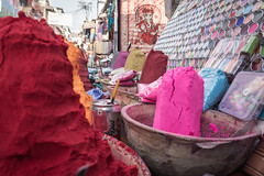 Rajasthan - Pushkar - Streets Shops-6