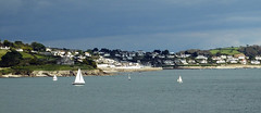 St Mawes (Cornishcarolin. Stupid busy!! xx) Tags: cornwall falmouth pendennispoint stmawes castles water riverfalestuary river boats yachts sky