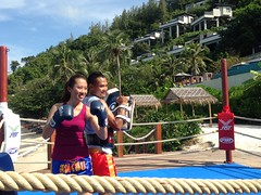 Thai Boxing Boot Camp at Conrad Koh Samui 1