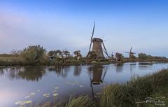 Windmill Nederwaard No. 6, Kinderdijk (PvRFotografie) Tags: nederland holland kinderdijk molen windmill windmolen nature natuur landscape landschap uitzicht view sonyilca99m2 sigma1224mm 1224mm 12mm sigma12244556 wideangle groothoek leesw150 lee09softgrad leepolarizer