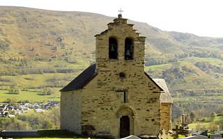Chapelle à Ens (Htes Pyrénées) XIIème et XVIIème siècle - Val Louron